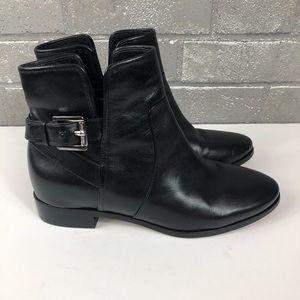 MICHAEL Michael Kors Soft Black Leather Booties.